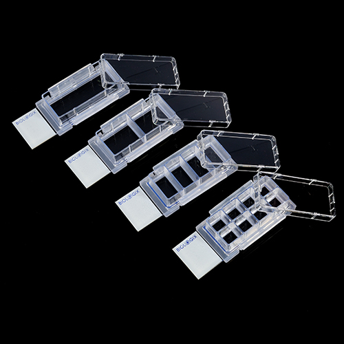 4-Well Cell Culture Chamber Slides (12/box)